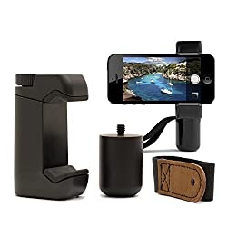 Shoulderpod S1 Professional Smartphone Rig, Tripod Mount, Filmmaker Grip, and Traveler Stand, with adjustable grip to fit all Smartphones - extremely durable, ultra portable and easy to use tool for serious Smartphone Photographers