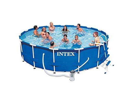 Intex Metall-Frame Pool-Set