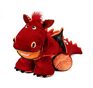 Stuffies - Blaze the Dragon (Red Stuffed Plush Animal)