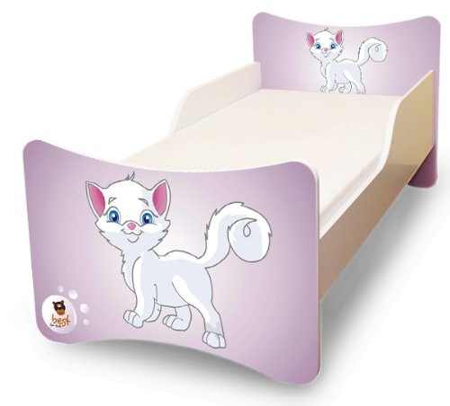 lada pisan best for kids kinderbett 90x200 kitty i. Black Bedroom Furniture Sets. Home Design Ideas