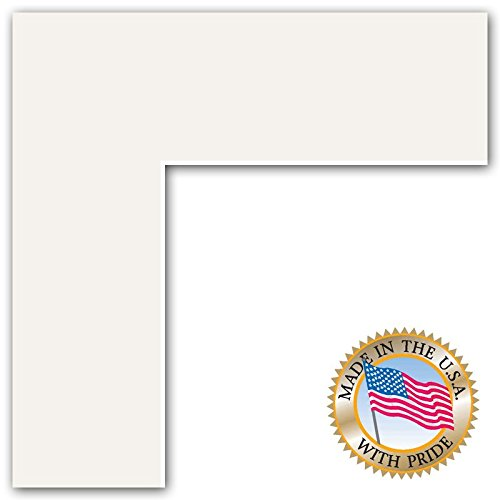 20x24 Polar White Custom Mat for Picture Frame with 16x20 opening size (Cheap Picture Frames 16x20 compare prices)