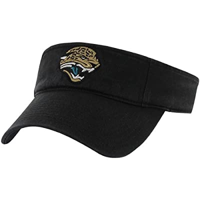NFL Jacksonville Jaguars Men's Clean Up Cap Visor, One Size, Black