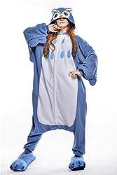 VU ROUL Home Clothing Adult Kigurumi Cosplay Owl Costume Style Pyjamas