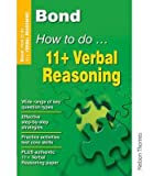 Alison Primrose Bond How to Do 11+ Verbal Reasoning by Primrose, Alison ( AUTHOR ) Jun-28-2007 Pamphlet