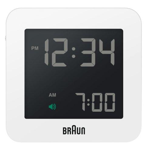 【正規輸入品】 BRAUN(ブラウン) 目覚まし時計 BNC009WHWH