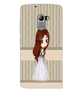 PrintDhaba Princess Doll D-3841 Back Case Cover for LENOVO K4 NOTE A7010 (Multi-Coloured)