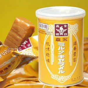 森永ミルクキャラメル保存缶