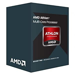 AMD Athlon X4 760k Black Edition Quad Processor (Socket FM2, 3.8GHz, 4MB, 100W, AD760kWOHLBOX, Richland, Turbo Core 3.0 Technology, Virtualization Technology)