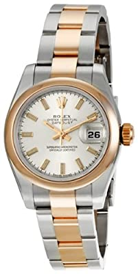 Rolex Datejust Two Tone Ladies Watch 179161SSO