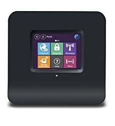 Securifi Almond - World's 1st Touch Screen Wireless N Router + Range Extender (Booster)