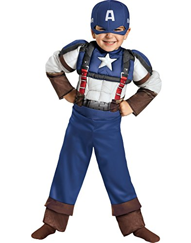 Disguise Marvel Captain America The Winter Soldier Movie 2 Retro Toddler Costume