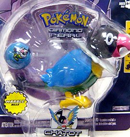 Pokemon Jakks Pacific Diamond & Pearl Series 1 Basic Figure Chatot