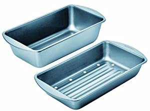 Chicago Metallic Betterbake Non-Stick Low-Fat Meatloaf Pan