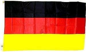 Deutschland Flagge Großformat 250 x 150 cm wetterfest Fahne