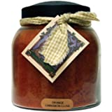 A Cheerful Giver Orange Cinnamon Clove Papa Jar Candle, 34-Ounce