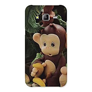 Stylish Toy Monkey Multicolor Back Case Cover for Samsung Galaxy J5