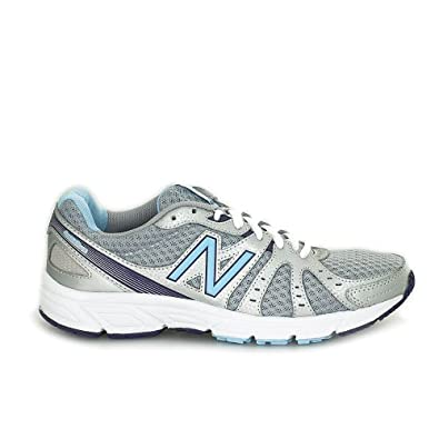 Amazon.com: New Balance Women's W450 Silver/Blue Mesh Athletics 7 B(M