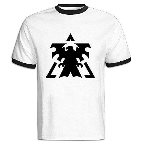 DINGZHITIXU Men's StarCraft Creative T-shirt