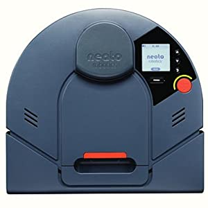 Neato XV-14 Automatic Robotic Vacuum with Extra Brush Heads, Filters, and Squeegee - Blue