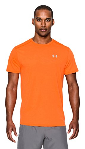 Under Armour Men's Streaker-Maglietta a maniche corte Arancione Beta Orange L