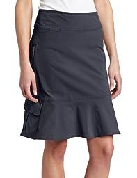Royal Robbins Women\'s Discovery Skirt, Jet Black, 16