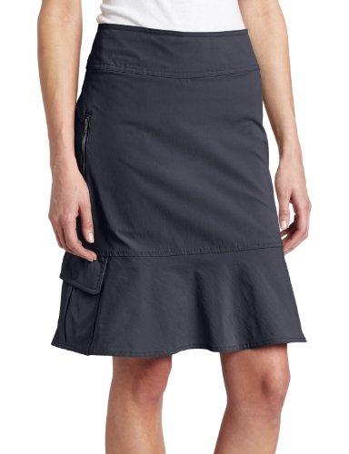 Royal Robbins Women's Discovery Skirt, Jet Black, 12