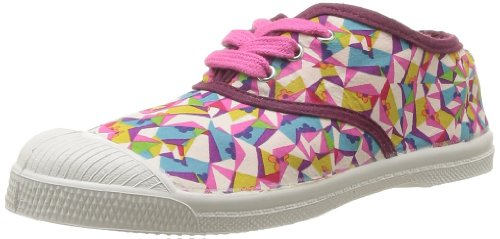 Bensimon Boys' Tennis Liberty Trainers Pink Rose (Kaleidoscope 6090) 29