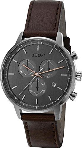 Joop. Reloj De Pulsera Para Hombre Eric Cronógrafo Cuarzo Piel jp101591003