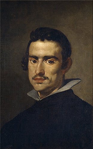 Oil Painting 'Velazquez Diego Rodriguez De Silva Y Portrait Of A Man Ca. 1623' 24 x 39 inch / 61 x 98 cm , on High Definition HD canvas prints, gifts for Basement, Dining Room And Kids Room Decoration (Valley Fifth Wheel Rails compare prices)