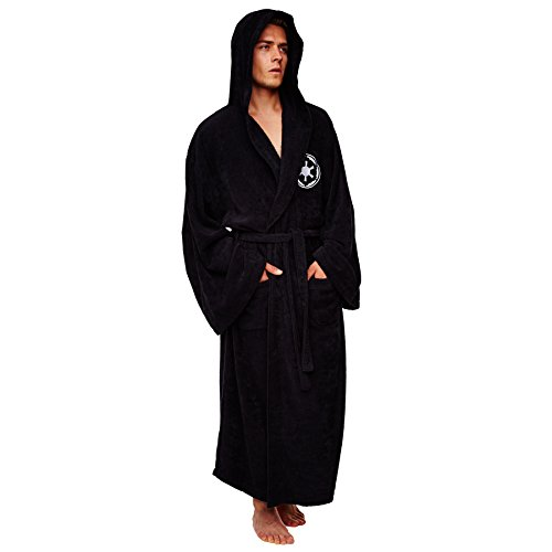 Darth Vader Dressing Gown (Adult Mens One Size Fits Most)