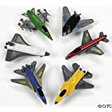 6 pack of Toy Airplanes