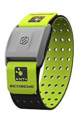 Scosche Rhythm Heart Rate Monitor Armband Green Various