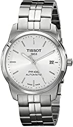 Tissot Men's T049.407.11.031.00 Silver Dial PR100 Watch