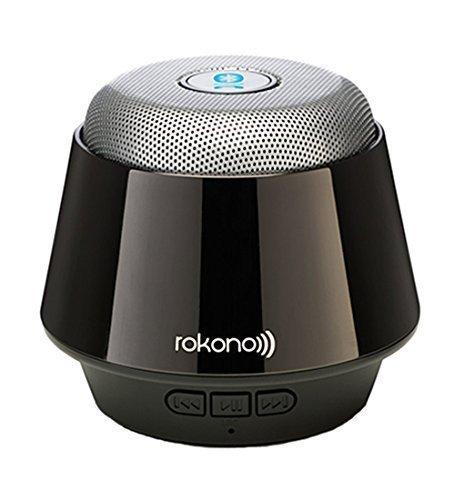 Rokono (B10) BASS+ Mini Altoparlante Bluetooth per iPhone / iPad / iPod / lettore MP3/ laptop - Nero Titanio