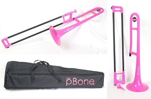 pBone ピー・ボーン (Pink) プラスチック製 トロンボーン