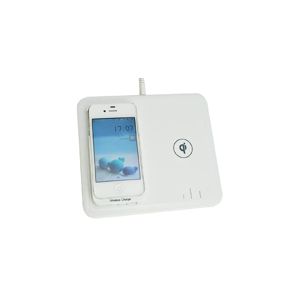 Wireless Powermat Transmitter Charging Pad Charger and Receiver Case ...