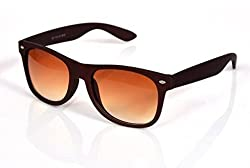 Candid Matt Finish Wayfarer Sunglasses (Brown) (GC102-M2)