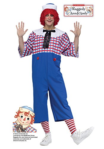 Raggedy Andy Adult Costume Standard