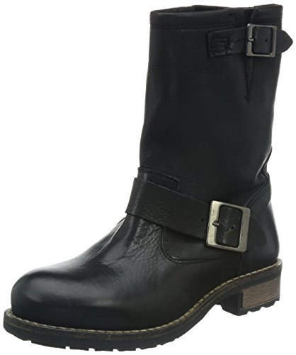 Buffalo London2515 SAUVAGE - Biker a mezza gamba, imbottiti Donna , Nero (nero (black 01)), 40
