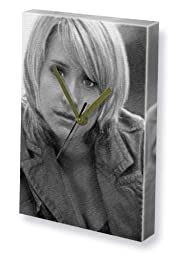 ALLISON MACK - Canvas Clock (A4 - Signed by the Artist) #js008