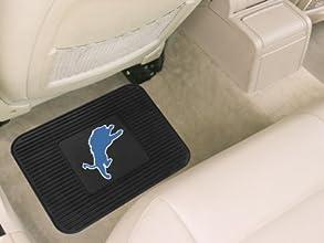 Detroit Lions NFL Heavy Duty Vinyl Rear Seat Car Utility Mat by Caseys
