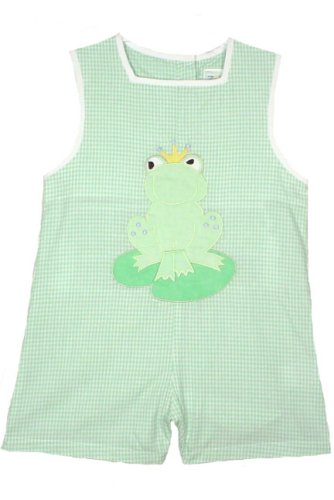 ZU Petit Ami Newborn/Infant/Toddler Boys Frog Gingham Romper - Buy ZU Petit Ami Newborn/Infant/Toddler Boys Frog Gingham Romper - Purchase ZU Petit Ami Newborn/Infant/Toddler Boys Frog Gingham Romper (Petit Ami, Petit Ami Apparel, Petit Ami Toddler Boys Apparel, Apparel, Departments, Kids & Baby, Infants & Toddlers, Boys, One-Pieces & Rompers)