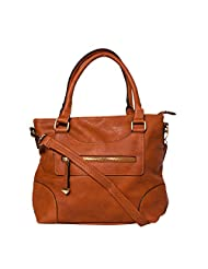 ADISA B1709 BROWN Women PU Handbag