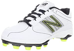 New Balance Women's WF7534 Softball Cleat,White,9 B US
