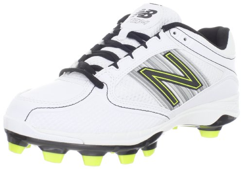 New Balance Women's WF7534 Softball Cleat,White,7 B US