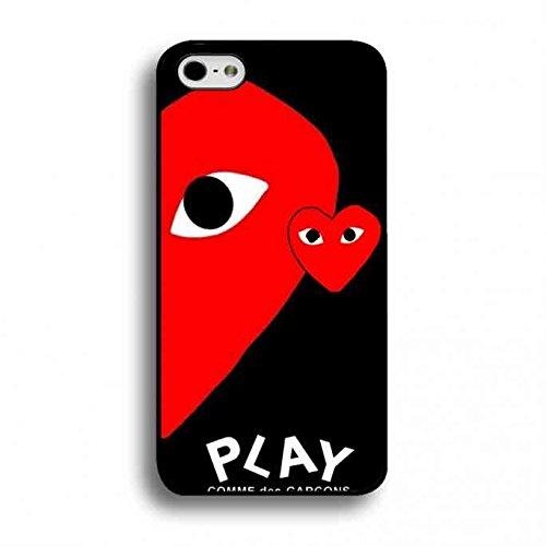コム・デ・ギャルソン・プレイケース,Apple iPhone 6/6S 対応コム・デ・ギャルソン・プレイロゴケース,Comme Des Gar?ons Play コム・デ・ギャルソン・プレイケース[iPhone6/6S(4.7インチ)対応]