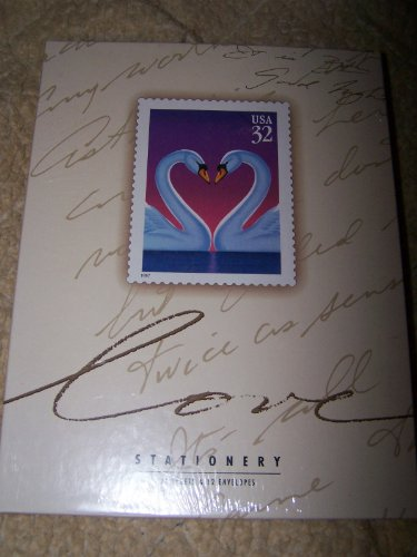 USPS 1997 Love Swan Stationary - 1