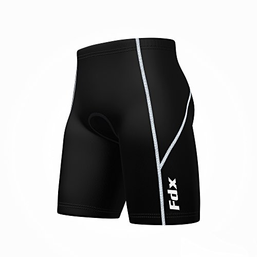 FDX New Mens Quality Cycle Cycling Shorts Anti-Bac Padding Bike Shorts
