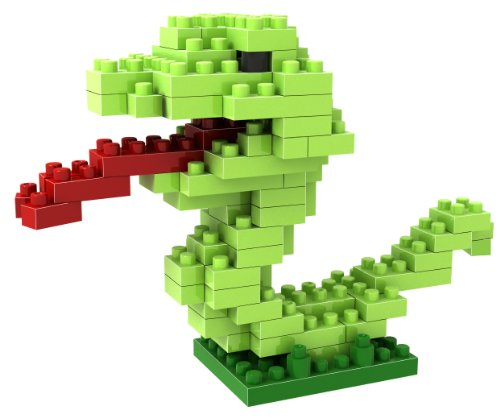 LOZ mini Diamond blocks building set - Snake