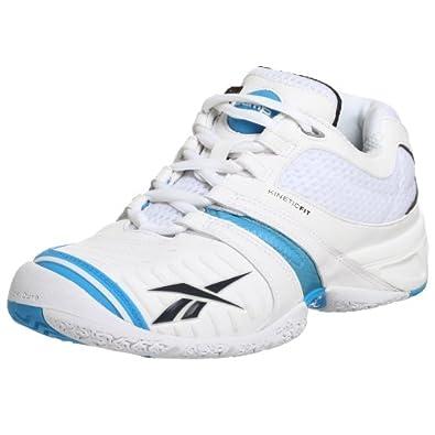 Amazon.com Reebok Menu0026#39;s KFS Pump Advantage Tennis ShoeWhite/Blue/Graphite11.5 M US Shoes